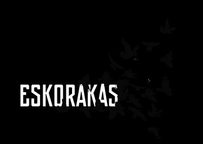 ESKORAKAS band logo