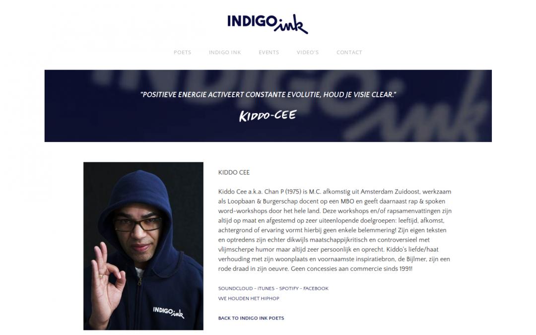 INDIGO INK website