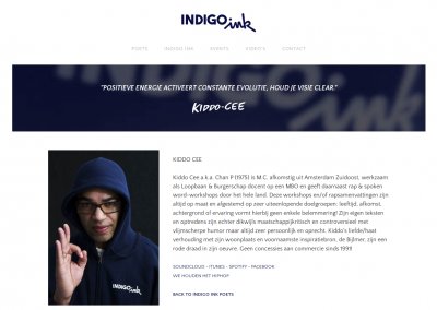 INDIGO INK website