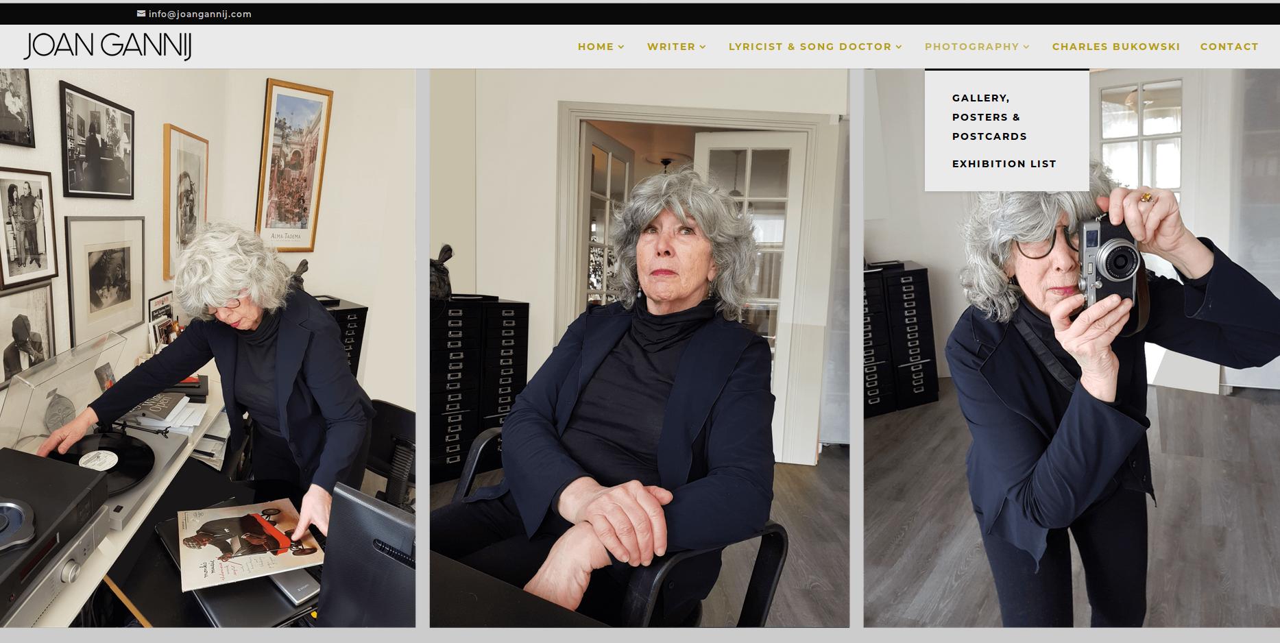 JOAN GANNIJ homepage