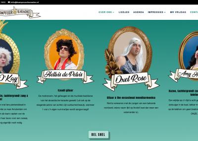 KAMPVUUR KARAOKE website