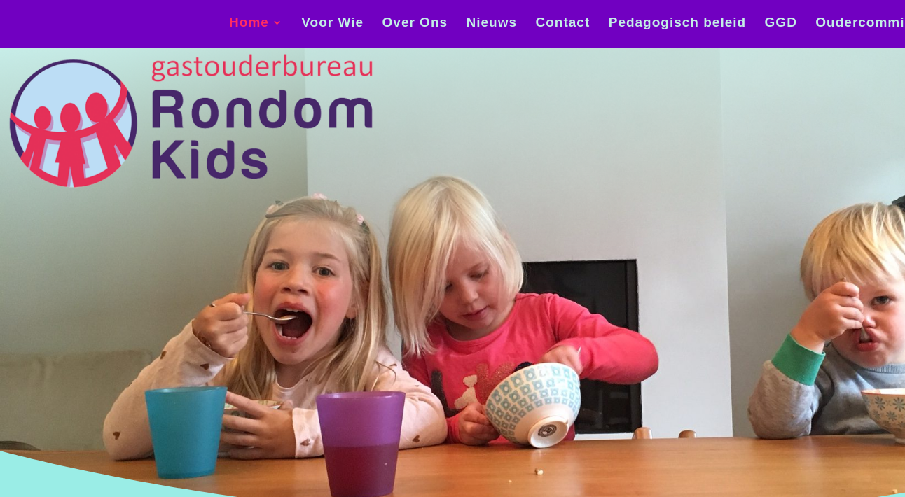 RONDOM KIDS homepage © KloosterVision