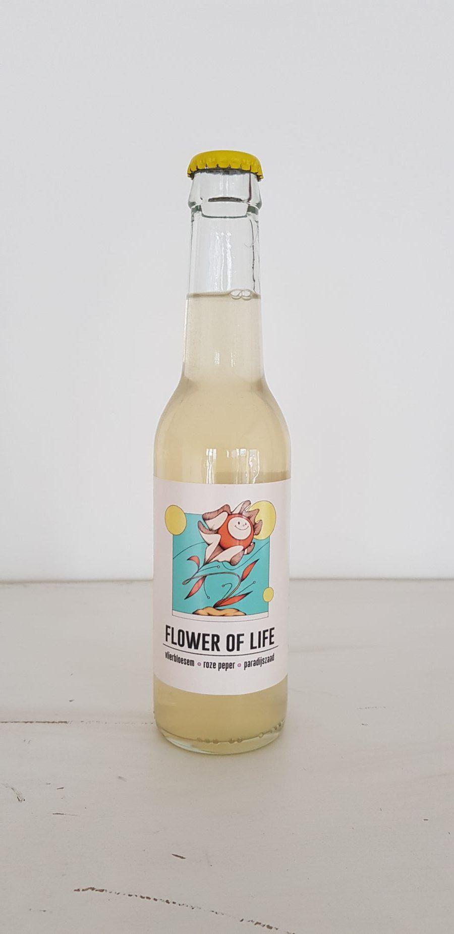 FLOWER OF LIFE DRINK label 6