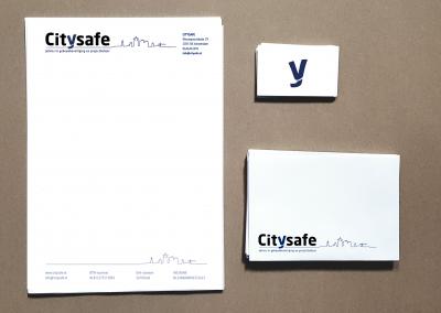 CITY SAFE briefpapier