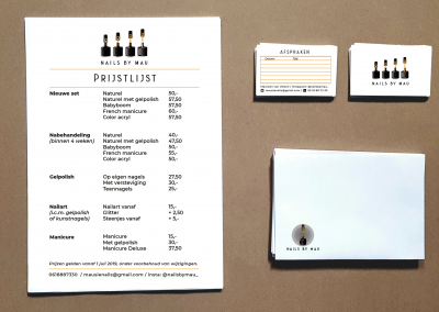 MAUSIE business cards